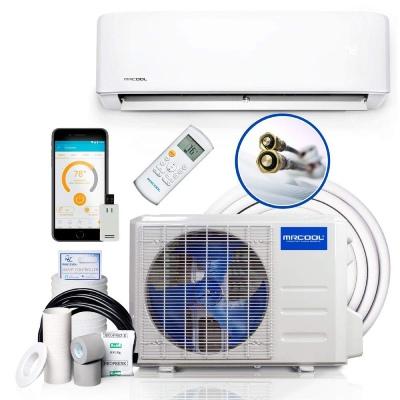 maximum btu for 110v mini split air conditioner