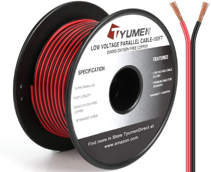 20 gauge electrical copper wire