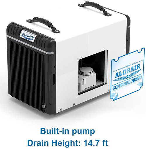 best commercial dehumidifier with built in pump