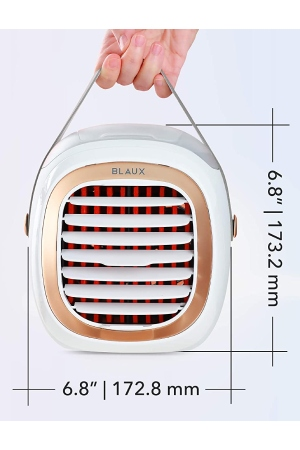BLAUX Portable AC G2: Most Popular Personal Air Cooler With 2000 mAh Battery