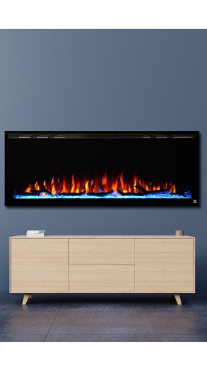 Best Electric Fireplace Insert Overall Touchstone Sideline Elite Smart