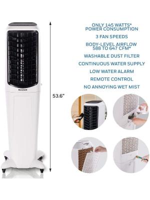 Honeywell TC50PEU: Best Indoor Evaporative Cooler By Honeywell