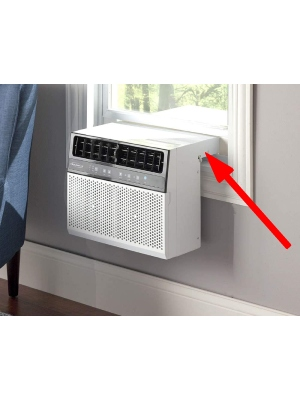 Soleus Air Exclusive By Hammacher Schlemmer: Best Low Profile Window AC Unit With Absolutely Lowest Profile (Under 3 Inches)