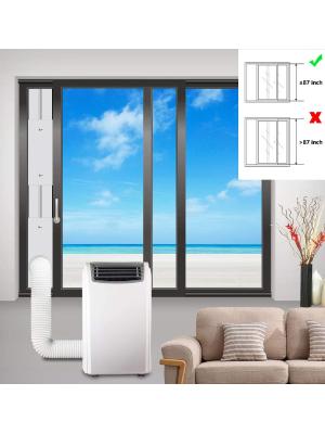 gulrear: Best Sliding Door Window Seal For Portable AC Units