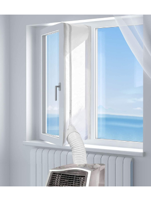 HOOMEE: Best Universal Window Seal For Portable Air Conditioners (Most Popular, Versatile)