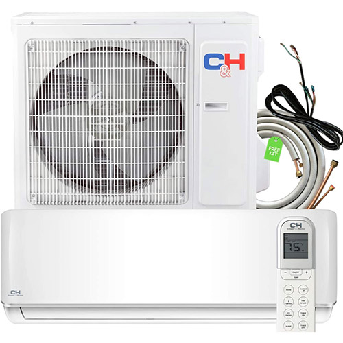 cooper and hunter highest seer rating heat pump ductless mini split system