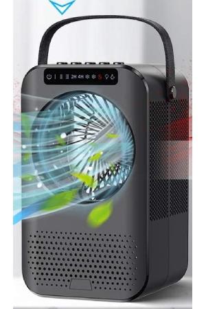 Charmelife Dual Cooler: Best Desktop Mini Moist Cooler + Hot Dry Air Fan