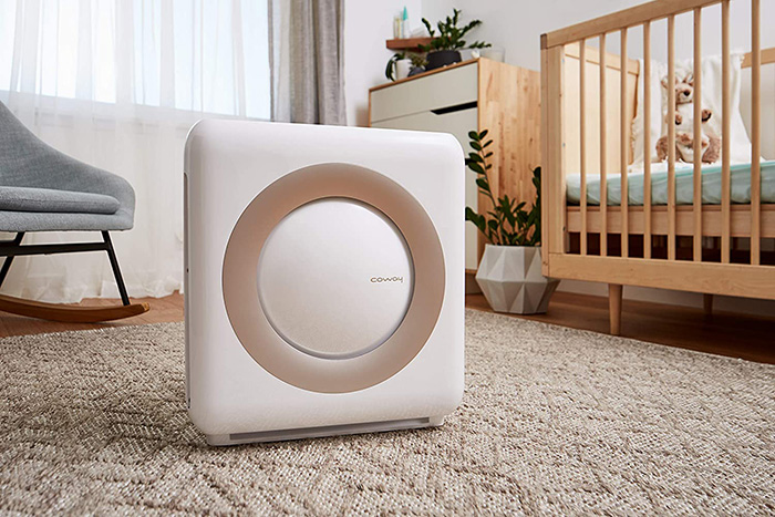 Coway AP-1512HH on the kids room floor