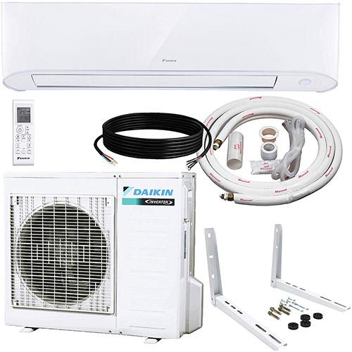 daikin heat pump and installation kit