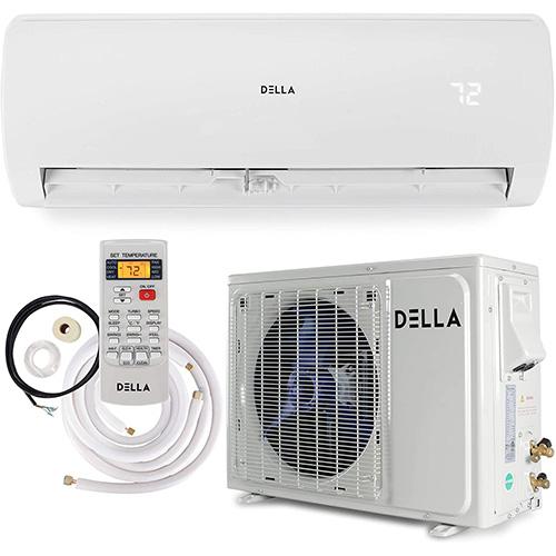 della mini split heat pump with 22 seer rating