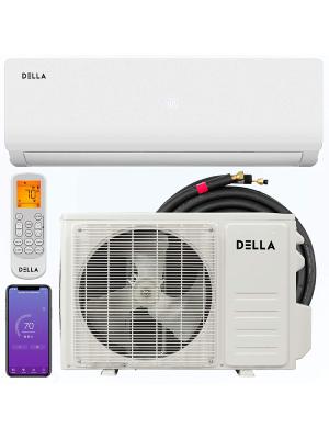 Della 12,000 BTU 20 SEER mini split air conditioner with high energy efficency