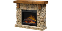 Dimplex SMP-904-ST Fieldstone freestanding electric fireplace