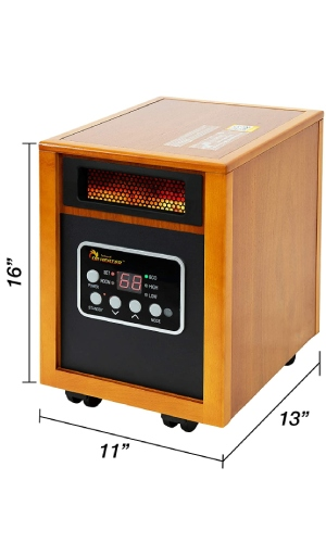 Dr Infrared Heater: Very Popular Energy Efficient Space Heater For Large Room.