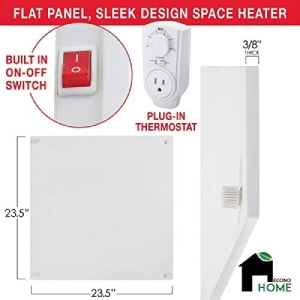 Energy Efficient Wall Mounted Heater: EconoHome Heater (Lowest Wattage)