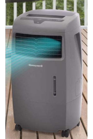 Best Outdoor Air Conditioner For Small Patios: Honeywell CO25AE (694 CFM)
