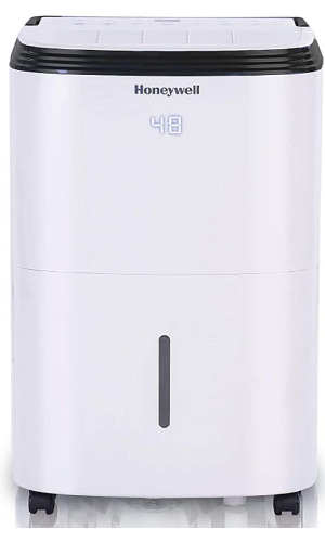 Honeywell TP70AWKN: Quietest Dehumidifier For Basement (Up to 52 dB)