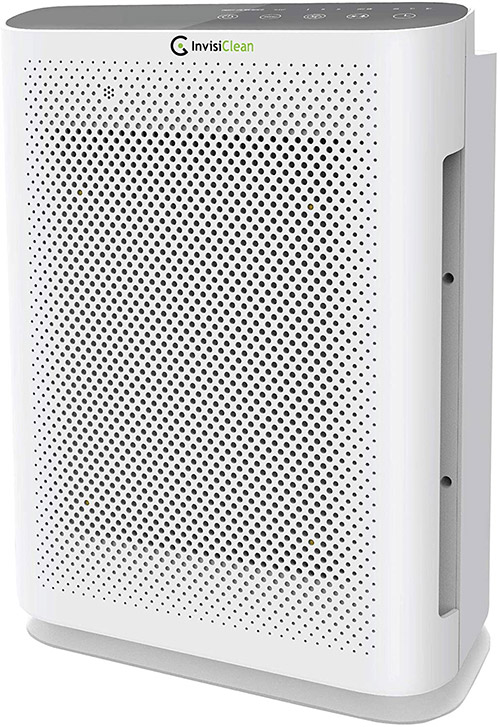 most efficient air purifier for mold made by invisiclean aura II
