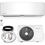 all parts of klimaire B07TDR51BW ac unit in order to DIY install it yourself