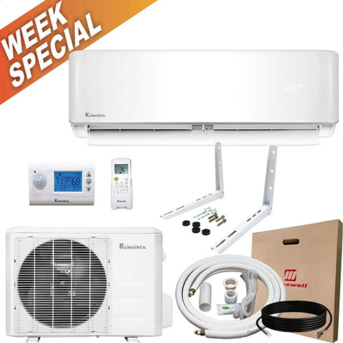 klimaire KSIV024-H219-S heat pump with week special insignia
