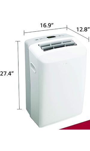 LG LP0817WSR: Most Popular 8,000 BTU Portable Air Conditioner