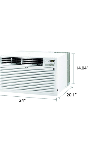 LG LT1037HNR: Best Through The Wall Air Conditioner With Heater (by LG).