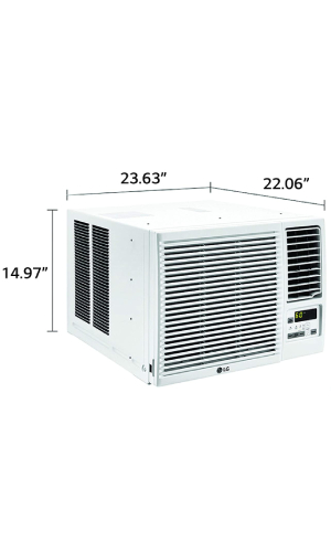 LG LW1216HR: Best LG And Most Energy-Efficient AC And Heat Window Unit