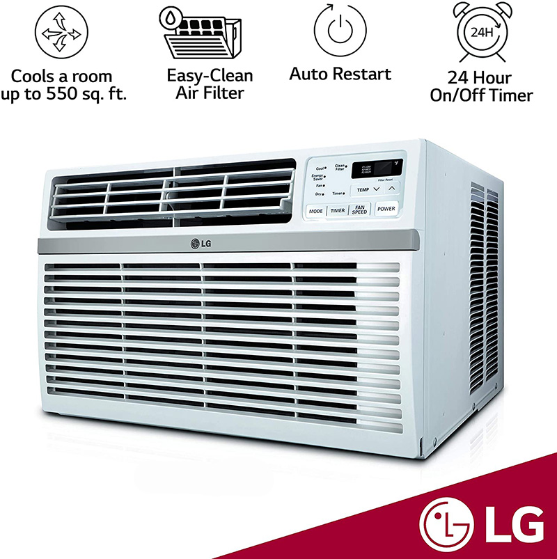 lg window air conditioner with the highest eer rating