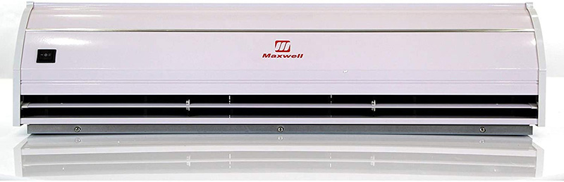 Maxwell MASF036-N1 is the most quiet air curtain with the lowest decibel levels