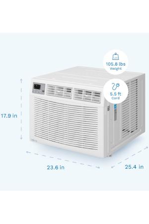 hOmeLabs B084WQ1KMT: Most Efficient 15,000 BTU Window AC Unit.