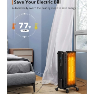 Most Efficient Oil Filled Heater TaoTronics TT-HE005 (Smart ECO Mode)