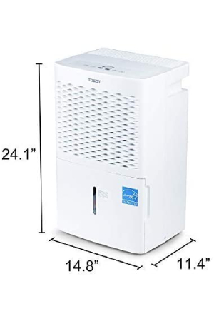 TOSOT Dehumidifiers: Most Energy-Efficient Dehumidifiers For Basement With Pump.