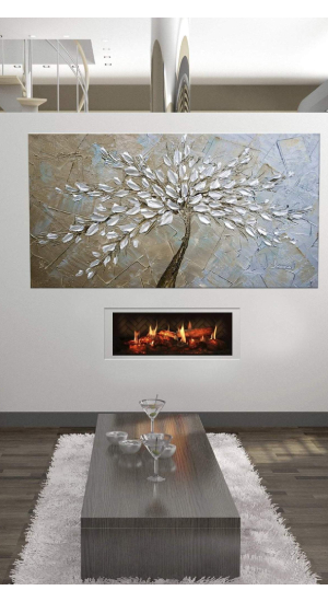 Most High-End Linear Electric Fireplace Dimplex Opti-V Series Solo