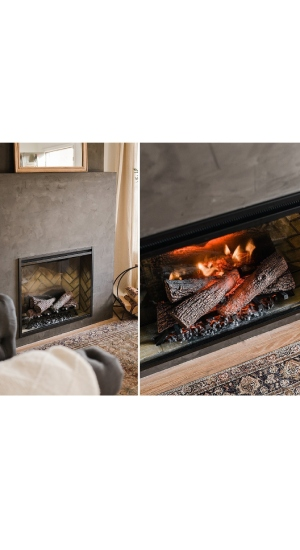 Most Realistic Electric Fireplace With Logs Dimplex Revillusion RBF