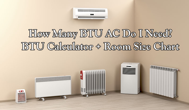 How Many Btu Air Conditioner Do I Need Btu Calculator