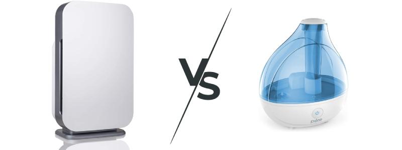 comparison between air purifier vs humidifer