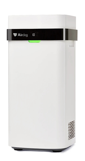 review of airdog x5 air purifier based on cadr rating, airflow, noise levels, and price
