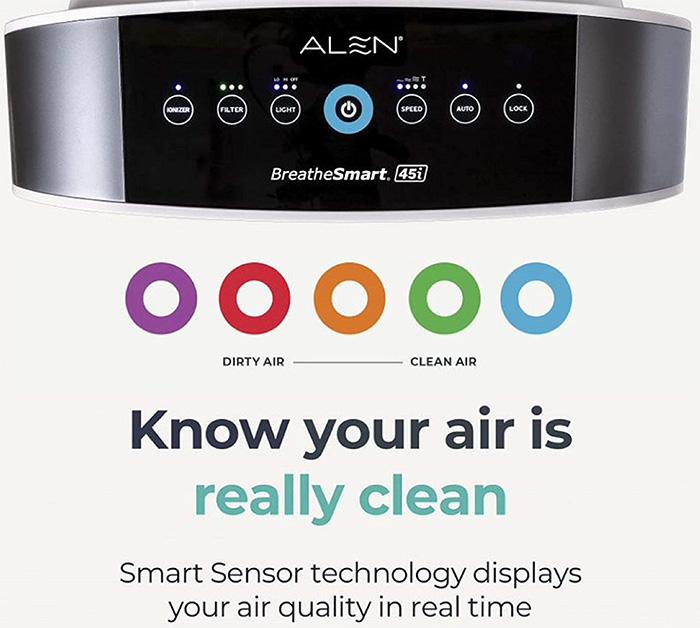 45i as the best alen breathesmart air purifier