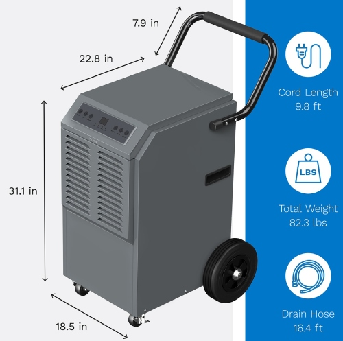 best commercial dehumidifier for price performance