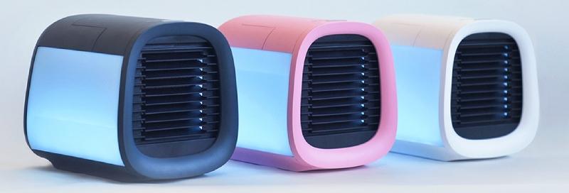best evapolar mini air conditioners in several colors