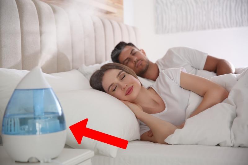 best humidifier for sleeping in bedroom
