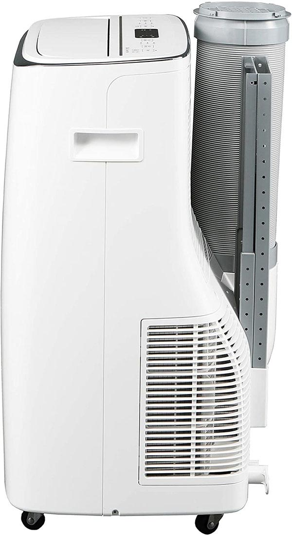 the lg LP1419IVSM is the quietest portable ac unit because of a silent motor and lo decibel technology