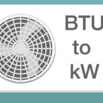 calculator that converts btu to kw for air conditioners
