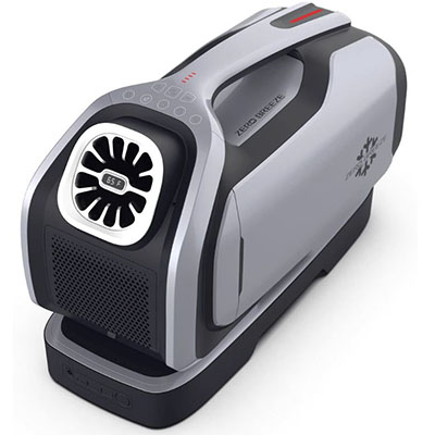 smallest battery powered air conditioner for very tiny rooms