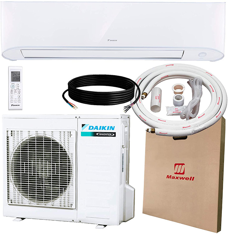 daikin-RXB12AXVJU-FTXB12AXVJU-WAFP21-IKM1438-ductless-ac-unit-with-the-installation-kit