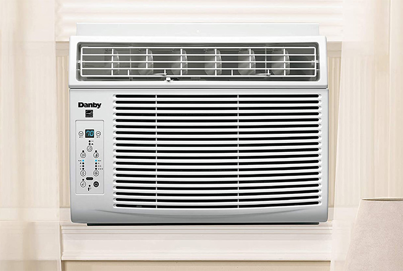 installation of danby window ac unit with the help of a window kit