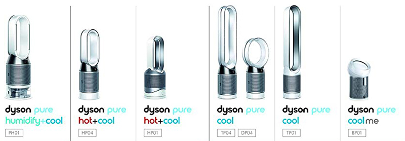 dyson air purifiers compared and reviewed