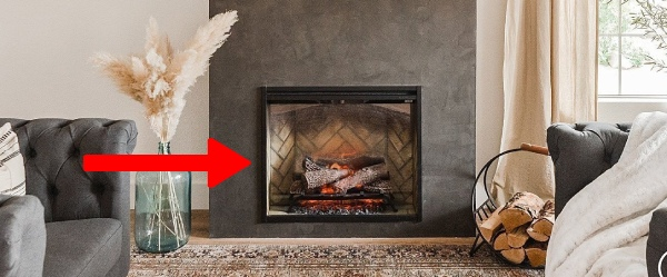 electric fireplace insert type