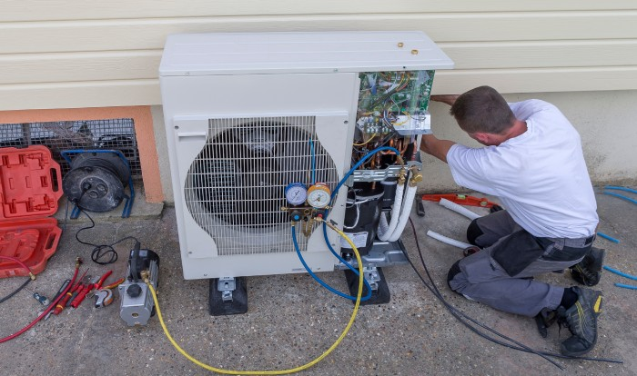 freon leak leading to AC short cycling