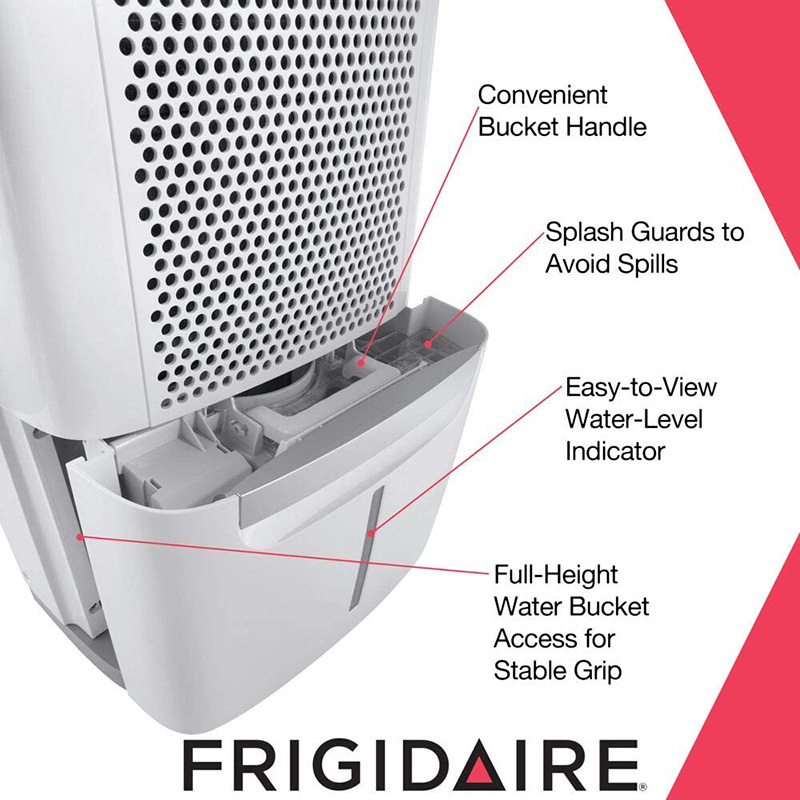 frigidaire FAD704DWD dehumidifier without a pump