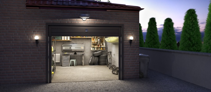 how to properly cool a garage in the summer